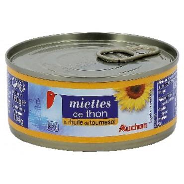 Auchan miettes de thon à...