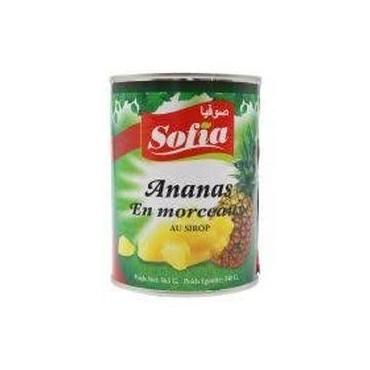 Sofia ananas en morceaux 564g