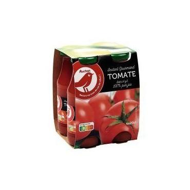 Auchan jus de tomate 4x20cl