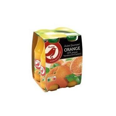 Auchan jus d\'orange 20cl x4