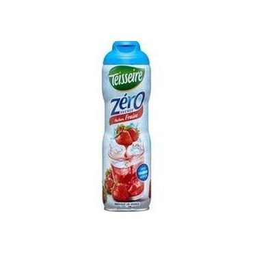 Teisseire sirop fraise zéro...