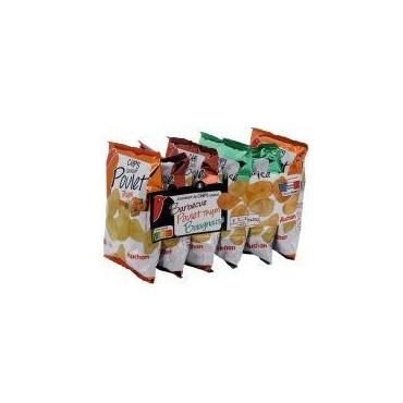 Auchan chips aromatisés 6x30g