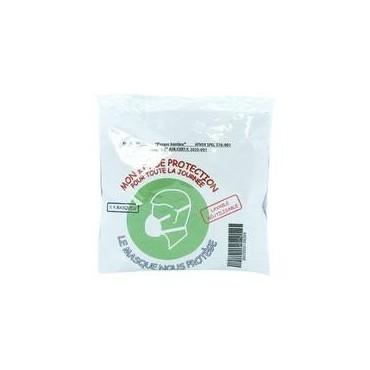 Kit masques tissu lavable x4