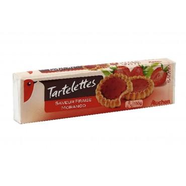 Auchan tartelette fraise x8...