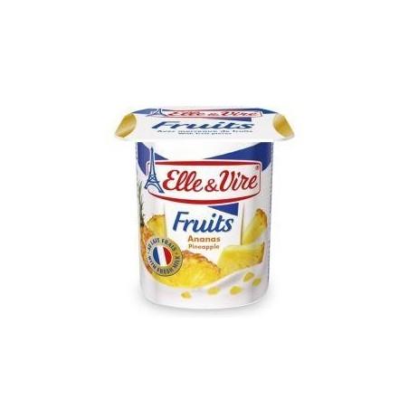 Elle&Vire dessert lacté ananas 125g