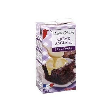 Auchan crème anglaise 50cl