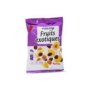 Auchan fruits exotiques 120g