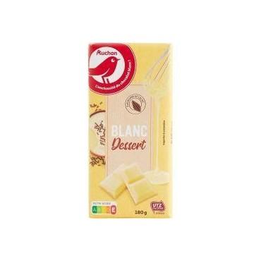 Auchan chocolat blanc...