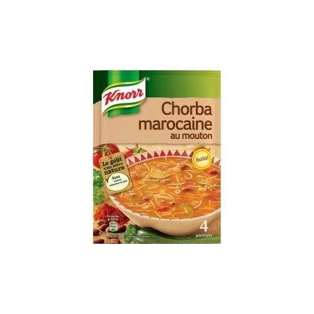Knorr soupe chorba marocaine au mouton 100g