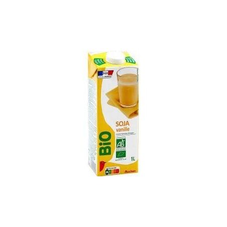 Auchan Bio boisson soja vanille 1L