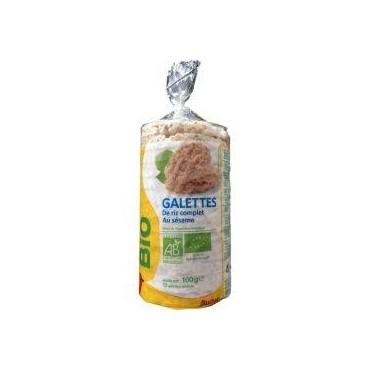 Auchan Bio galettes de riz...