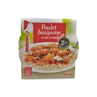 Auchan poulet basquaise au...