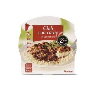 Auchan riz chilli con carne...