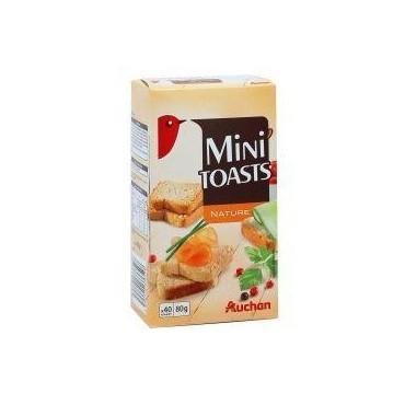 Auchan mini toasts 80g