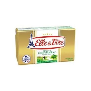Elle&Vire beurre 1/2 80% 200g