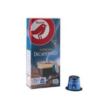 Auchan decaffeinato...
