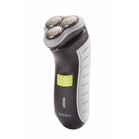 Selecline rasoir électrique 3 têtes rotatives