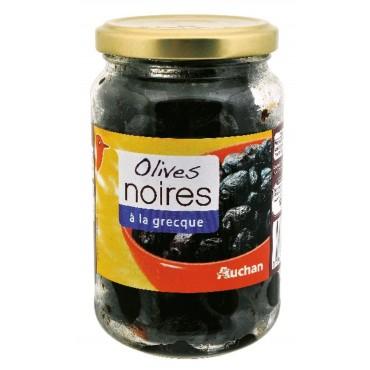 Auchan olives noires à la...