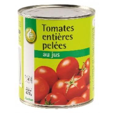 Pouce tomates entières...