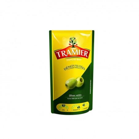 Tramier olives vertes dénoyautées 100g
