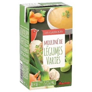 Auchan mouliné de légumes...