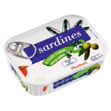 Auchan sardines à l\'huile...