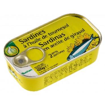 Pouce sardines à l\'huile...
