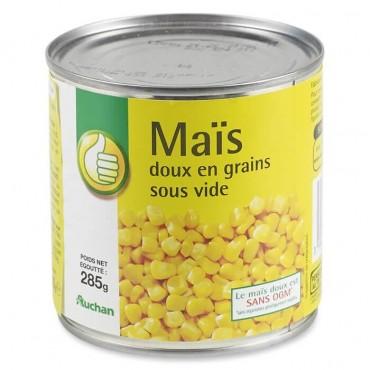 Pouce maïs doux en grains