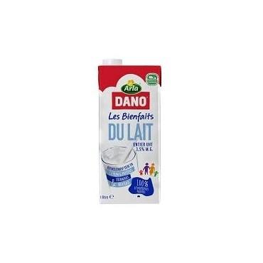 Dano lait UHT entier 1l