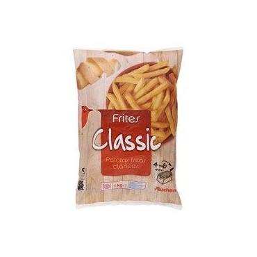 Auchan frites classic 1kg