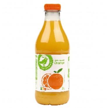 Auchan pur jus d\'orange 1l