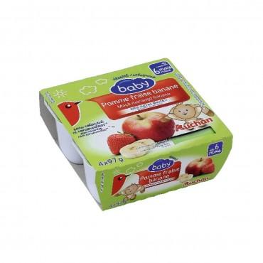 Auchan baby pomme fraise et...