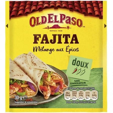 Old El Paso Fajita mélange aux épices 30g
