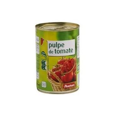 Auchan pulpe de tomate 400g