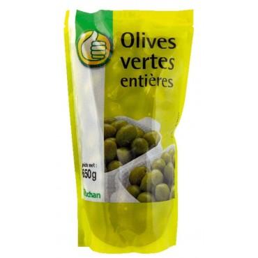 Pouce olives vertes entières