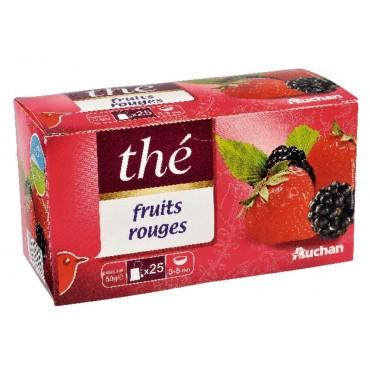 Auchan thé aromatisé fruits...
