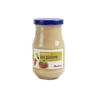 Auchan sauce au poivre 240g