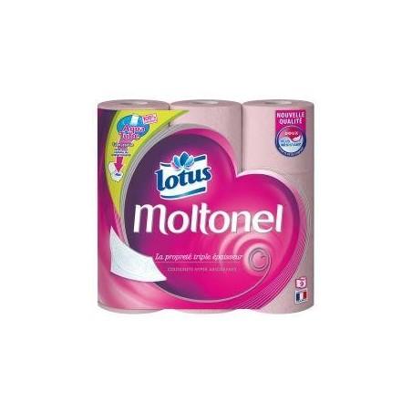 Lotus papier toilette rose aquatube x9
