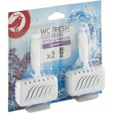 Auchan bloc wc solide fresh...