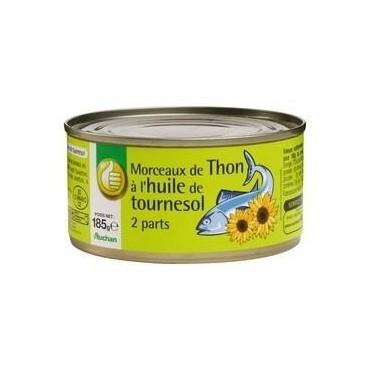 Pouce thon à l\'huile de...