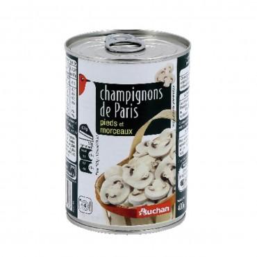 Auchan champignons de Paris...