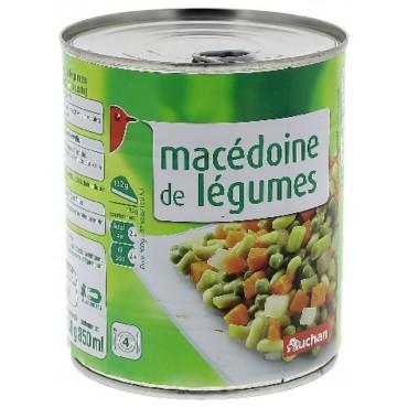 Auchan macédoine de légumes...