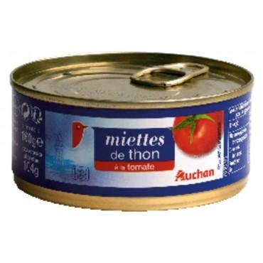 Auchan miettes de thon à la...
