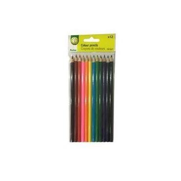 Auchan 12 crayons couleurs...