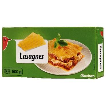 Auchan feuilles de lasagnes...