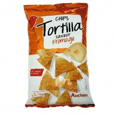 Auchan tortilla chips...