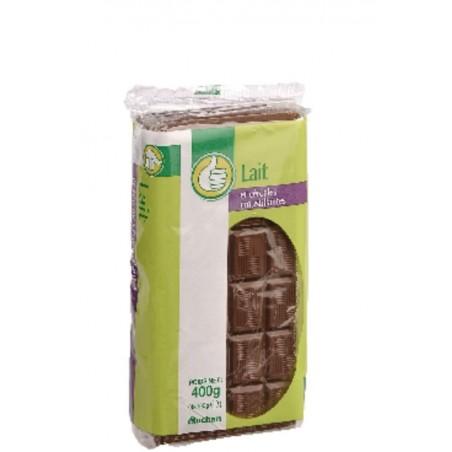 Pouce chocolat au lait et aux céréales croustillantes 4x100g