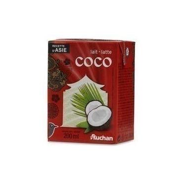 Auchan lait coco 200ml