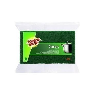 Scotch-brite gratton vert X3