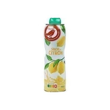 Auchan sirop citron 75CL